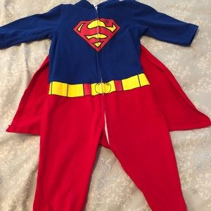 6-12 months Superman onesie